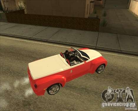 Chevrolet SSR для GTA San Andreas вид справа
