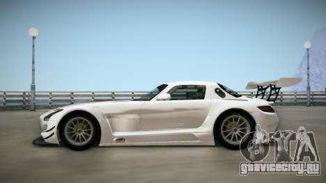 Mercedes-Benz SLS AMG GT3 для GTA San Andreas вид сзади слева