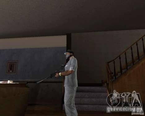 Автомат g37 для GTA San Andreas второй скриншот