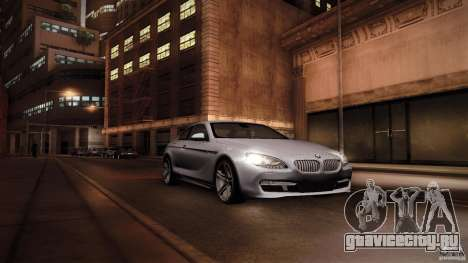 BMW 640i Coupe для GTA San Andreas вид справа