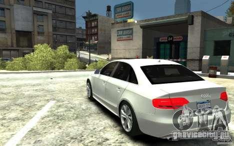 Audi S4 2010 v.1.0 для GTA 4 вид сзади слева