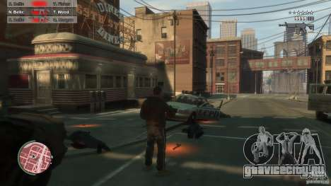 First Person Shooter Mod для GTA 4 восьмой скриншот