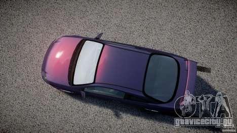 Chevrolet Cobalt SS для GTA 4 вид изнутри