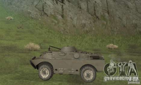 БРДМ-2 Зимний вариант для GTA San Andreas вид сзади слева