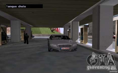 Авто заправщик на АЗС для GTA San Andreas третий скриншот