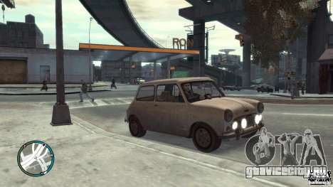 Mini Cooper S для GTA 4 вид справа