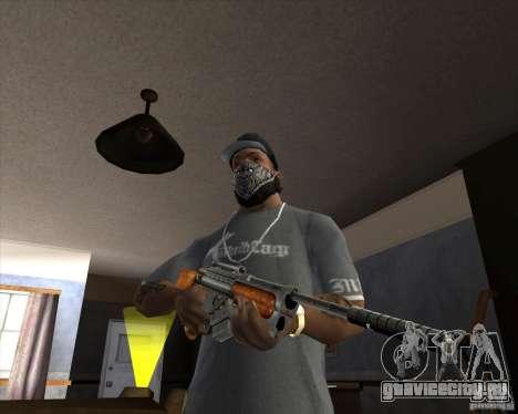 RAPTOR Sniper Rifle from Serious Sam для GTA San Andreas второй скриншот