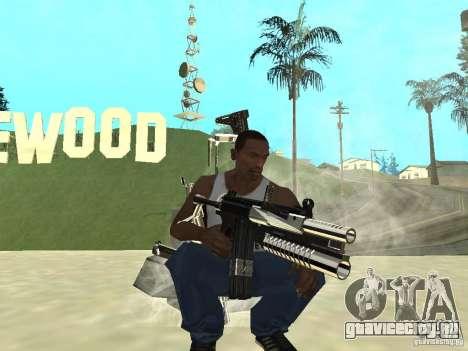 Weapons Pack для GTA San Andreas третий скриншот