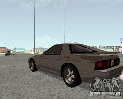 Mazda Savanna RX-7 FC3S для GTA San Andreas вид слева