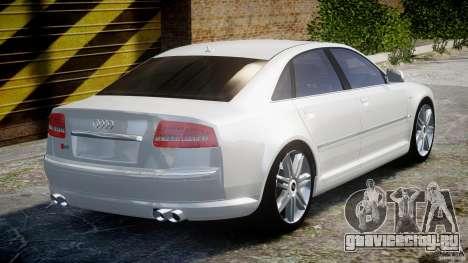 Audi S8 D3 2009 для GTA 4 вид сверху