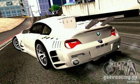 BMW Z4 E85 M GT 2008 V1.0 для GTA San Andreas вид слева