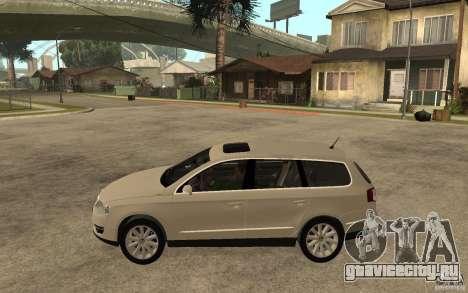 Volkswagen Passat Variant 2010 для GTA San Andreas вид слева