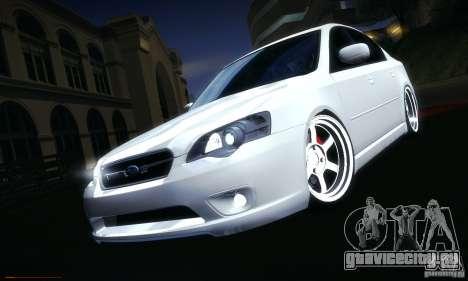 Subaru Legacy BIT edition 2004 для GTA San Andreas салон