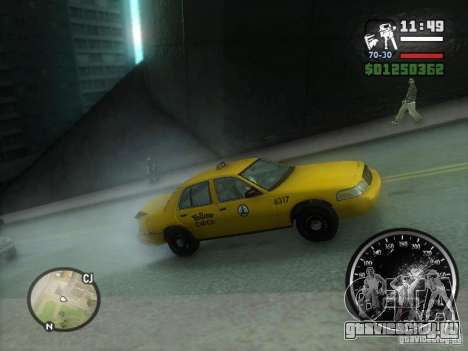 Гололёд для GTA San Andreas второй скриншот