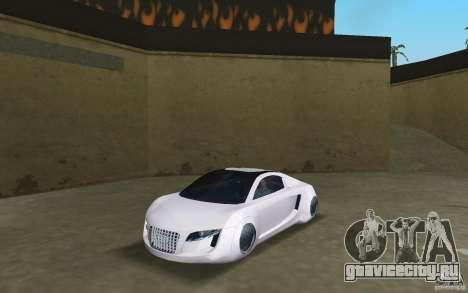 Audi RSQ concept для GTA Vice City