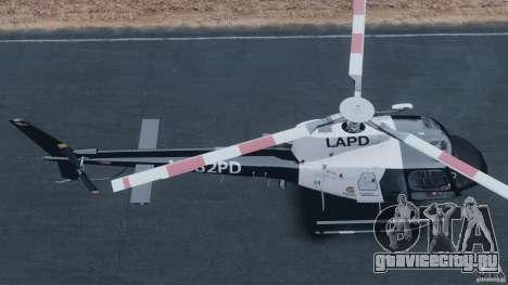 Eurocopter AS350 Ecureuil (Squirrel) для GTA 4 вид справа