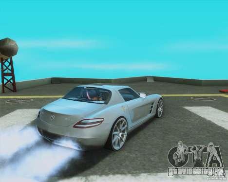 Mercedes-Benz SLS AMG 2010 v.1.0 для GTA San Andreas вид слева