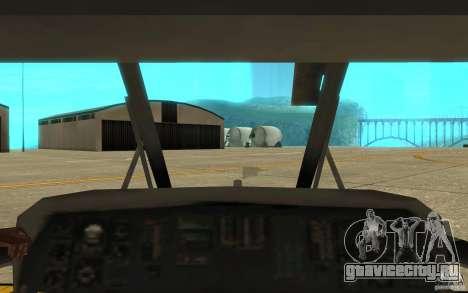 UH-80 для GTA San Andreas вид сбоку