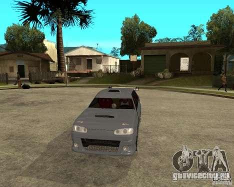 ВАЗ 2115 MCC для GTA San Andreas вид сзади