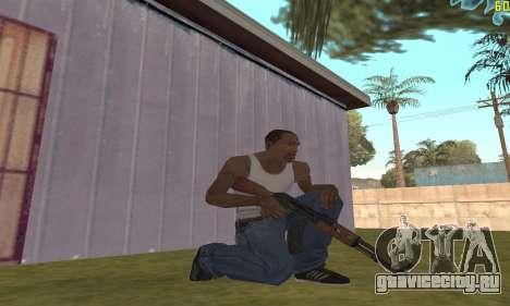 Автомат Калашникова Модернизованный для GTA San Andreas второй скриншот
