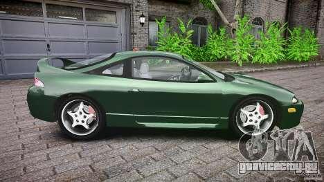 Mitsubishi Eclipse 1998 для GTA 4 вид сбоку