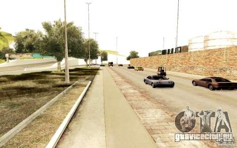 Новый алгоритм трафика автомобилей для GTA San Andreas третий скриншот