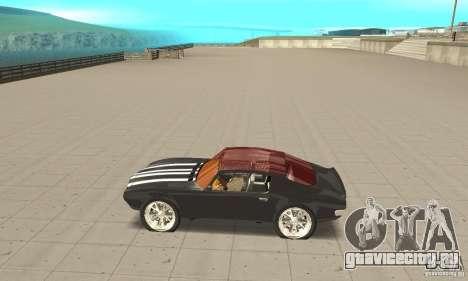 Pontiac Flamingo для GTA San Andreas вид слева