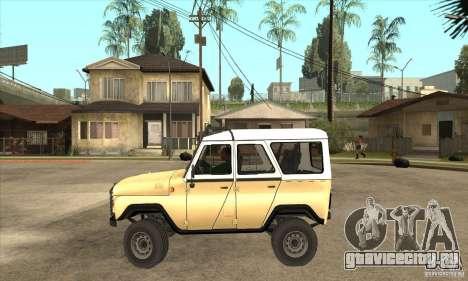 УАЗ 31514 для GTA San Andreas вид слева