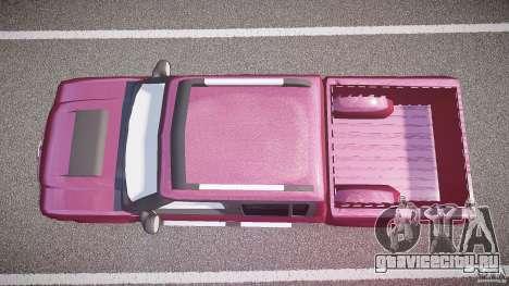 Chevrolet S10 для GTA 4 вид справа