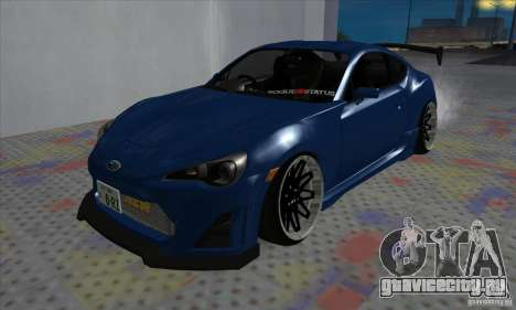 Subaru BRZ JDM для GTA San Andreas