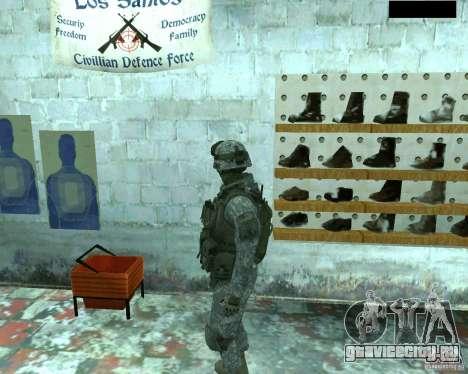 Скин пехотинца из CoD MW 2 для GTA San Andreas четвёртый скриншот