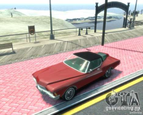 Buick Riviera 1972 Boattail для GTA 4 вид слева