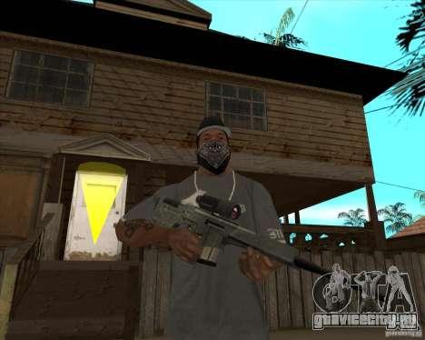 Resident Evil 4 weapon pack для GTA San Andreas седьмой скриншот