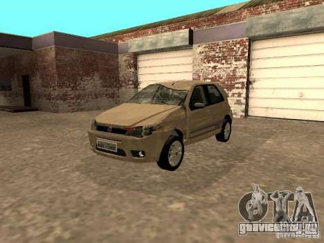 Fiat Palio 1.8R для GTA San Andreas вид изнутри
