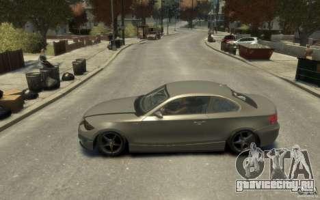 BMW 135i для GTA 4 вид слева