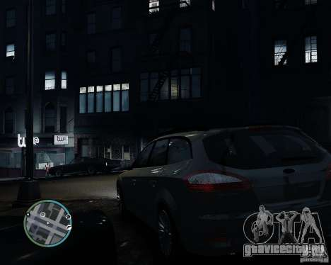 Ford Mondeo Mk4 для GTA 4 вид слева