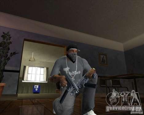 Tec 9 (HQ) для GTA San Andreas второй скриншот