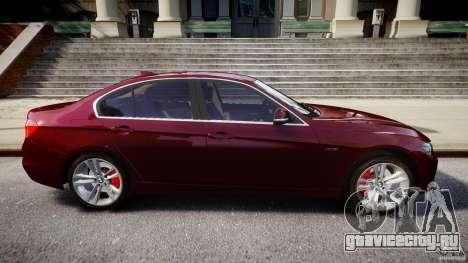 BMW 335i 2013 v1.0 для GTA 4 вид сверху