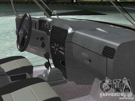 Nissan Frontier для GTA San Andreas вид сбоку