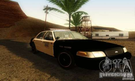 Ford Crown Victoria Oklahoma Police для GTA San Andreas