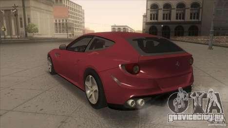 Ferrari FF 2011 V1.0 для GTA San Andreas вид справа