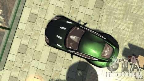 Aston Martin One-77 [EPM] для GTA 4 вид справа
