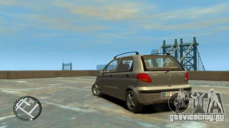 Daewoo Matiz Style 2000 для GTA 4 вид слева