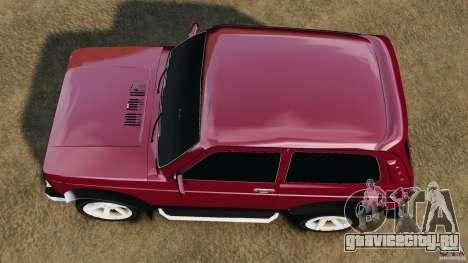 ВАЗ-21214 Нива (Lada 4x4) для GTA 4 вид справа