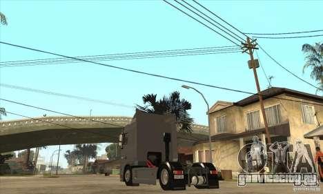 DAF XF для GTA San Andreas вид справа