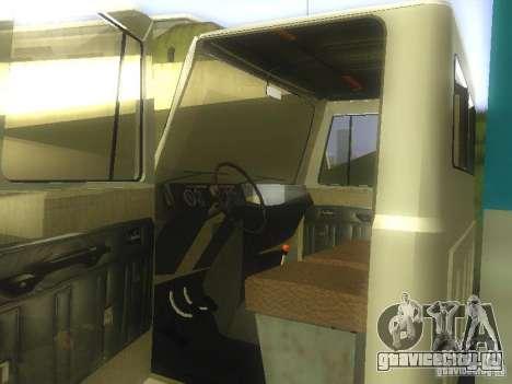 ГАЗ 3307 для GTA San Andreas вид сзади слева