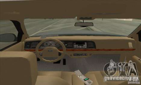 Ford Crown Victoria 2003 для GTA San Andreas вид слева