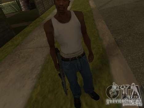 MP5A2 для GTA San Andreas третий скриншот