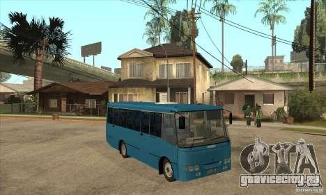 Богдан А0921 Турист для GTA San Andreas вид сзади