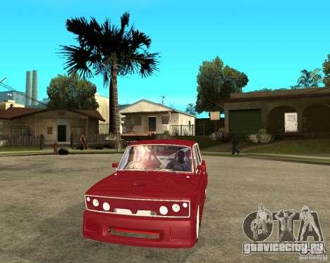 Ваз 2106 Lord для GTA San Andreas вид сзади